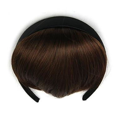 bruns bouclés retardateurs bandeau cheveux crépus tisse chignons 2/30