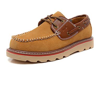 Masculino Sapatos Camurça Outono Inverno Conforto Tachas Para Atlético Casual Azul Escuro Marron Vinho