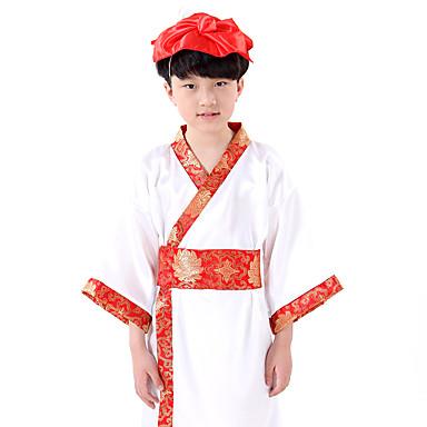 Tanzsport Kleidung Kleider Kinder Vorstellung Baumwolle 1 Stück Lange Ärmel Kleid
