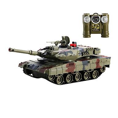 télécommande voiture modèle de réservoir, le métal contre les chars (l) - le léopard 2 sgainst chars allemands (l)