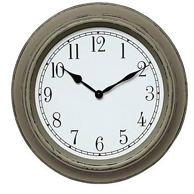 Moderno/Contemporáneo Otros Reloj de pared,Redondo Reloj