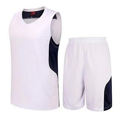 Ensemble de Vêtements/Tenus(Jaune / Blanc / Bleu Foncé / Bleu Ciel) -Sport de détente / Badminton / Basket-ball / Course-Sans manche-Homme