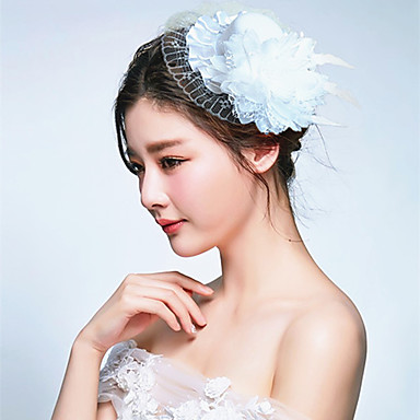 נשים בד כיסוי ראש-חתונה אירוע מיוחד קישוטי שיער חלק 1