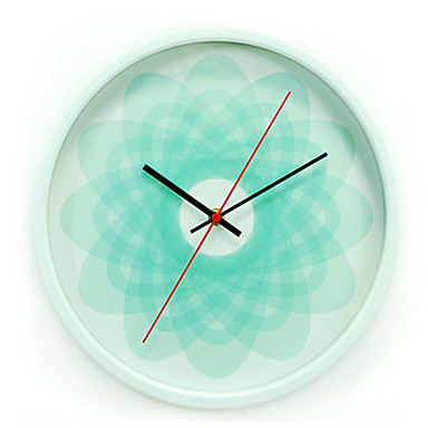 Modern/Zeitgenössisch Anderen Wanduhr,Kreisförmig Metal Uhr