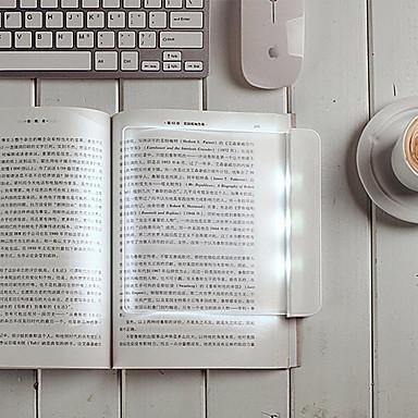 17.8 * 17 * 1,5 centímetros lâmpada de leitura 0.6W de tela plana a leitura proteger uma lâmpada olho levou luz