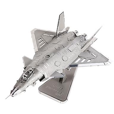 3D - Puzzle Holzpuzzle Metallpuzzle Modellbausätze Flugzeug Kämpfer Spaß Metalllegierung Metal Klassisch Geschenk