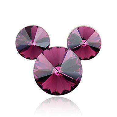 hochwertigen Kristall Maus Brosche für die Hochzeit Partei Dame
