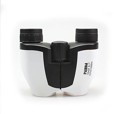 PANDA 10X22 mm Fernglas Hochauflösend Wetterfest Allgemeine Anwendung BAK7 Mehrfachbeschichtung 107m/1000m Zentrale Fokussierung