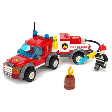 ENLIGHTEN Spielzeug-Autos Bausteine Bildungsspielsachen Spaß Kinder Geschenk