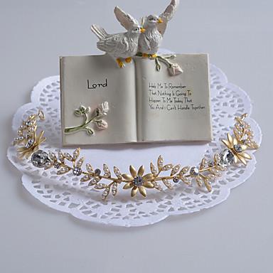 Damen Perle Strass Aleación Kopfschmuck-Hochzeit Besondere Anlässe Stirnbänder 1 Stück