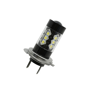 SO.K 2pcs H7 Auto Leuchtbirnen 8 W LED High Performance 1300 lm 16 LED Nebelscheinwerfer