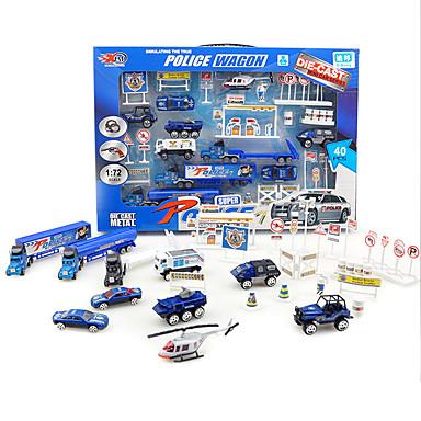 Dibang -1699 modelos explosão modelo infantil brinquedo liga de carro tenda brinquedo veículos de construção venda de escavadoras (8pcs)