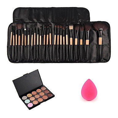 Concealer / kontur+Concealer / Contour / Makeupbørster / Pulver Puff Pulver Puff / Skønhedsblender / Makeupbørster Ansigt Klassisk Daglig
