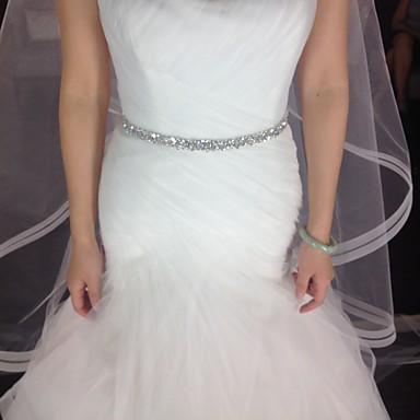 Perlen Hochzeit / Party / Abend Schärpe-Kristall Damen 220cm Kristall