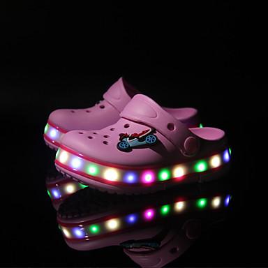 Jungen Schuhe Kunststoff Frühling Sommer Herbst Leuchtende LED-Schuhe Komfort Slippers & Flip-Flops Applikationen LED Kombination für