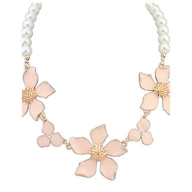 Damen Niedlich Party Freizeit Modisch Europäisch Anhängerketten Kragen Perlenkette Perle Künstliche Perle Aleación Anhängerketten Kragen