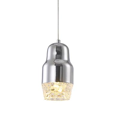 Luzes Pingente ,  Contemprâneo Cromado Característica for LED Metal Sala de Estar Quarto Sala de Jantar Quarto de Estudo/Escritório