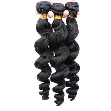 Az emberi haj sző Mongol haj Laza hullám haj sző