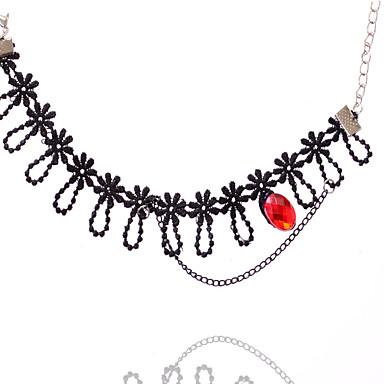 נשים תכשיט לקרסול/צמידים תחרה סקסי אופנתי תכשיטים עבור חתונה יומי קזו'אל