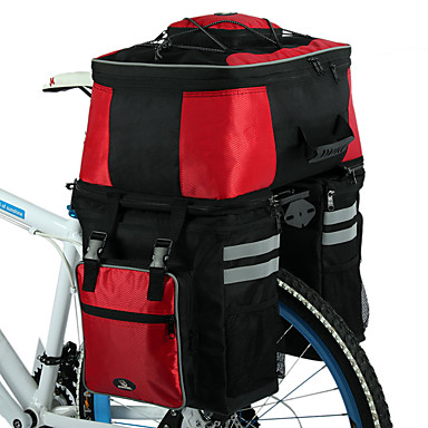 ROSWHEEL Fahrradtasche 68LFahrrad Kofferraum Tasche/Fahrradtasche Wasserdicht tragbar Stoßfest Tasche für das Rad Stoff Fahrradtasche