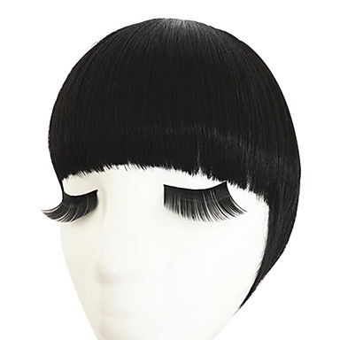 natural preto com cabelo hoop templos duplas para arrumada estrondo (preto natural)