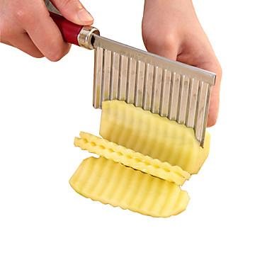 1pc Herramientas de cocina Acero inoxidable Novedades Cutter & Slicer para vegetal