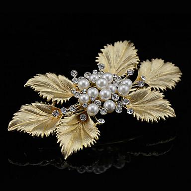 perle legierung haarspange kopfschmuck hochzeit elegante stil