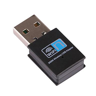 Mini-USB-WiFi-Empfänger Wireless-Adapter RTL8192 300Mbps