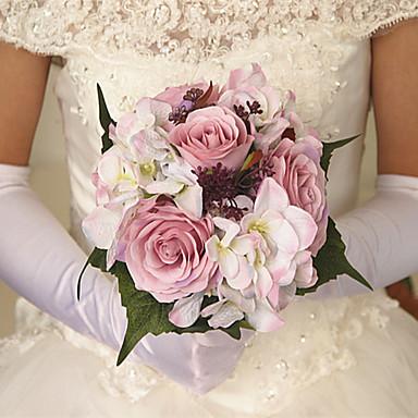 Bouquets de Noiva Buquês Casamento Festa / Noite Cetim 10.24