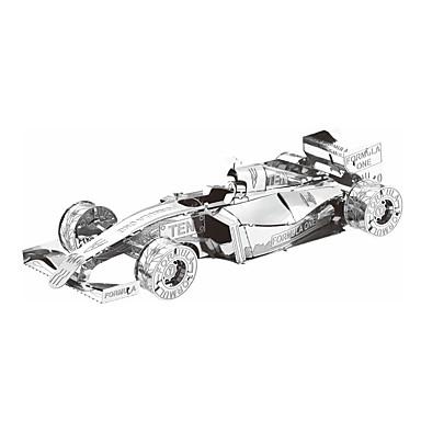 voordelige 3D-puzzels-3D-puzzels Legpuzzel Metalen puzzels Automatisch DHZ Metaal Racewagen Geschenk