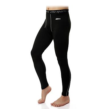 Homme Compression Collants Pantalon / Surpantalon Leggings Bas Exercice & Fitness Course/Running Serré M L XL