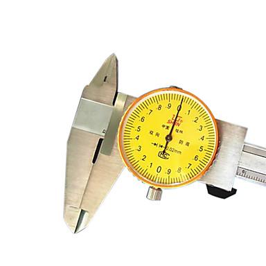 précision 0-150mm outil de mesure du niveau des étriers de bord 0.02 cadran
