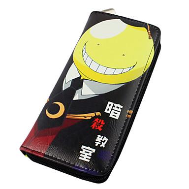 Bolsa Carteiras Inspirado por Sala de aula de assassinato Fantasias Anime Acessórios para Cosplay Carteira PU Leather Homens Mulheres