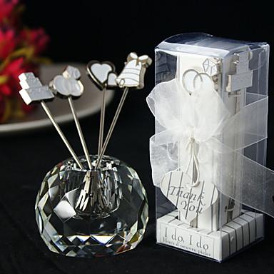Ikke-personalisert-Kjøkkenredskaper / Tea fest favors-Asiatisk Tema / Klassisk Tema / Eventyr Tema / rustikk Theme(Hvit,Sink Legering)
