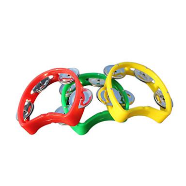 sino amarelo de plástico vermelho / / azul para as crianças todos os instrumentos musicais de brinquedo