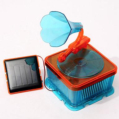 צעצועים המופעלים באנרגית השמש דגם תצוגה Music Box צעצועי מדע וגילויים צעצוע חינוכי צעצועים מונע בחשמל סולרי עשה זאת בעצמך ילדים 1 חתיכות