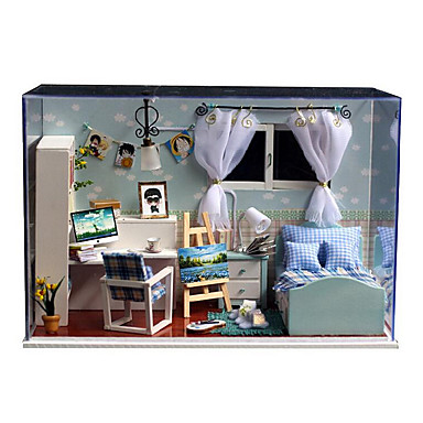 chi Fun House t-005 Haiyangzhixin criativa artesanais presentes casa modelo handmade hut diy