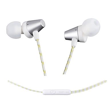 modocee r2 sztereó sport fém fülhallgató fejhallgató hifi fejhallgató mikrofonnal Xiaomi iPhone és Android