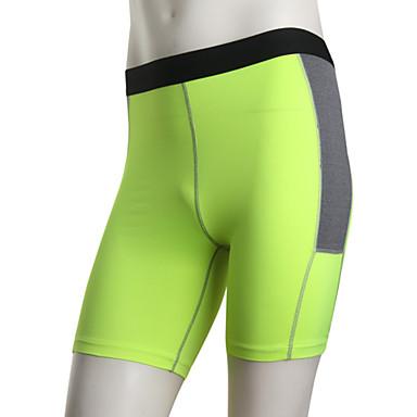 לגברים ריצה מכנסיים קצרים נושם ייבוש מהיר ריצה לבן ירוק אדום אפור שחור כחול
