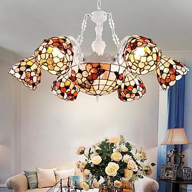 Traditionell-Klassisch Abblendbar Kronleuchter Moonlight Für Wohnzimmer Esszimmer Studierzimmer/Büro Spielraum Glühbirne nicht inklusive