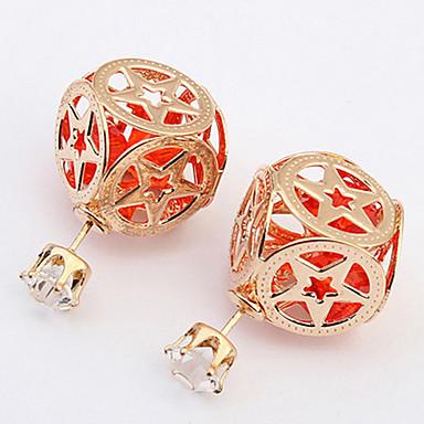 Damen Ohrring Harz / Legierung Multi-Stone Stud Earrings