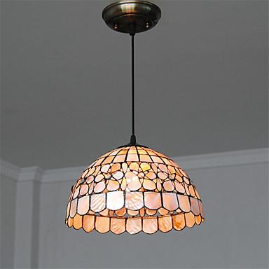 CXYlight Tiffany Pendelleuchten Moonlight - Ministil, 110-120V 220-240V Glühbirne nicht inklusive