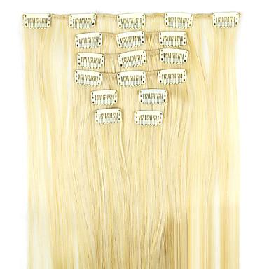 Haarverlängerungen Synthetische Haare Gute Qualität Klassisch Damen Alltag