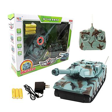 22,719 טנק בשלט רחוק ארבעה ערוצי סימולציה חשמלית של מכונת טנק לשלוט מרחוק roy 0.9 ילדים