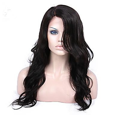 billige Blondeparykker med menneskehår-Ekte hår Maskinprodusert U-del Helblonder uten lim Parykk Med lugg stil Brasiliansk hår Bølget Krop Bølge Parykk 130% 150% 180% Hair Tetthet med baby hår Naturlig hårlinje Afroamerikansk parykk 100