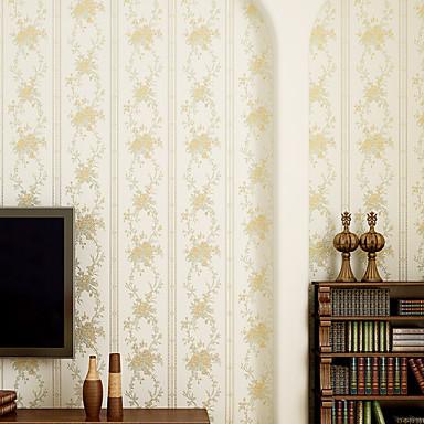 Tapete Streifen Tapete Zeitgenössisch Wandverkleidung,Nicht-gewebtes Papier ja