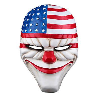 voordelige Maskers voor de feestdagen-Halloweenmaskers Carnavalsmaskers polykarbonaatti Filmpersonage Horrorthema Volwassenen