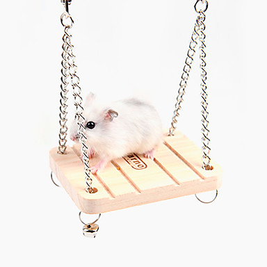 Hamster Holz Spezieller Entwurf / Wasserfest / Multi-Funktional Weiß