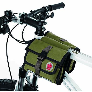 Kerékpáros táska 1.5LVáztáska Vízálló cipzár Viselhető Párásodás gátló Ütésálló Kerékpáros táska Ruhaanyag Terylene Kerékpáros táska