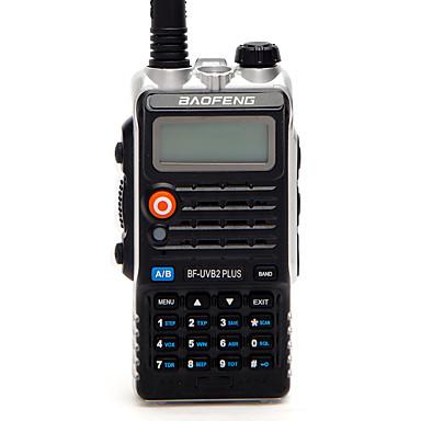BAOFENG BF-UVB2 PLUS Walkie-talkie Håndholdt Digital Lader og adapter Stemmekommando Strømskifter høy/lav Type walkie-talkie CTCSS/CDCSS